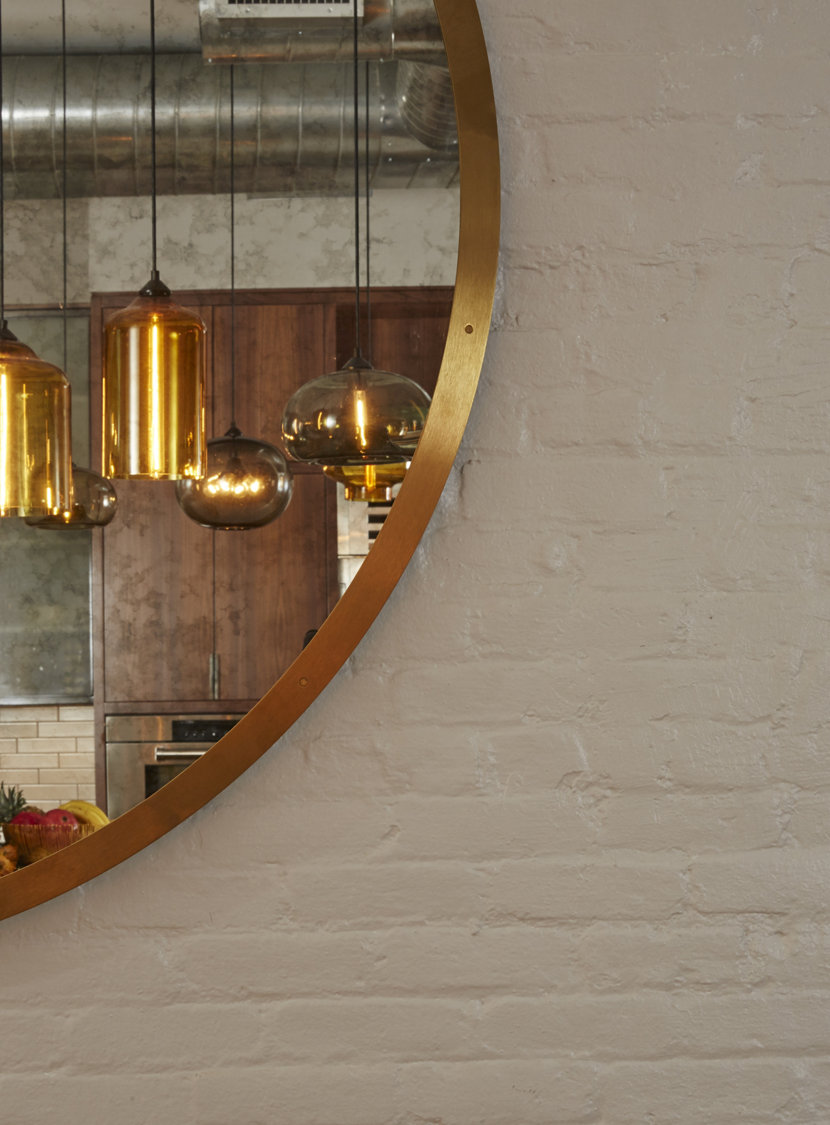 Glass Pendant Lights - Reade Street Studio