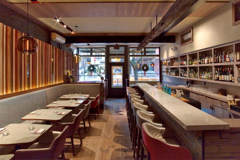 take a restaurant modern lighting tour in new york city