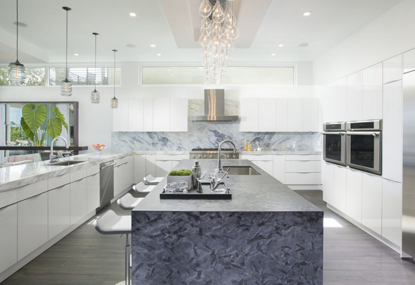 Kitchen Island Pendant Lights - Gray Delinea