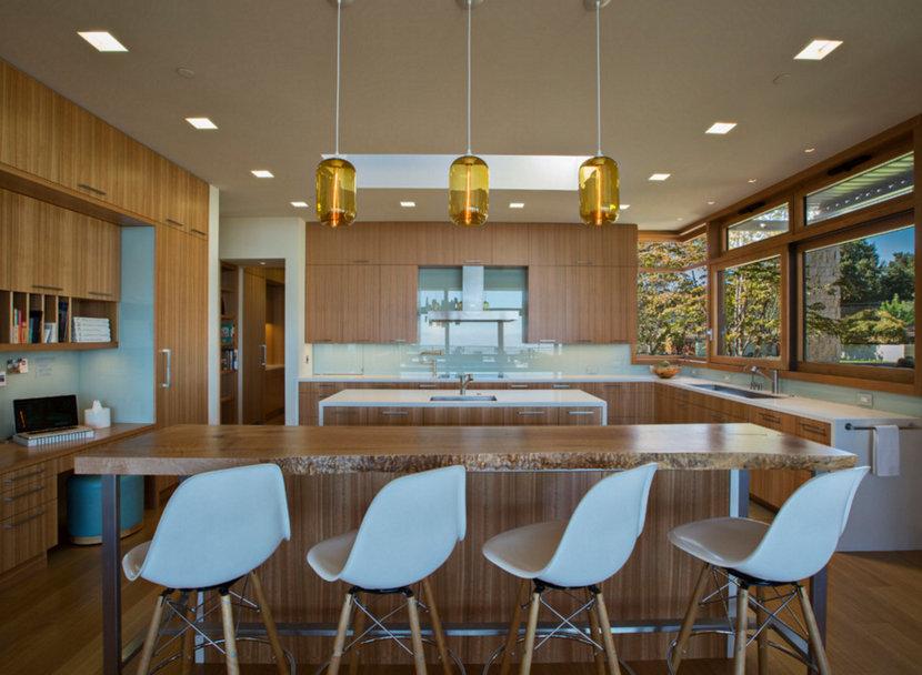Kitchen Island Pendant Lighting - Amber Pods