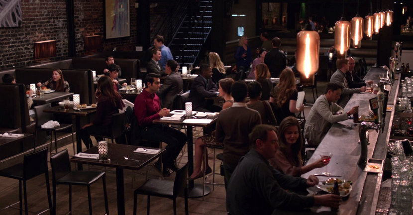 Niche Bar Pendant Lights in Episode of Silicon Valley