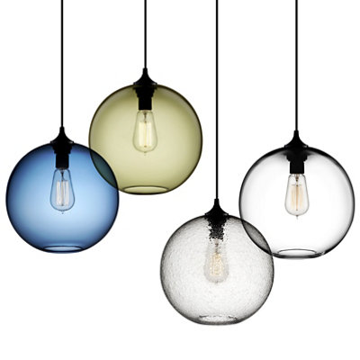 Orb Pendant Lights - Solitaire
