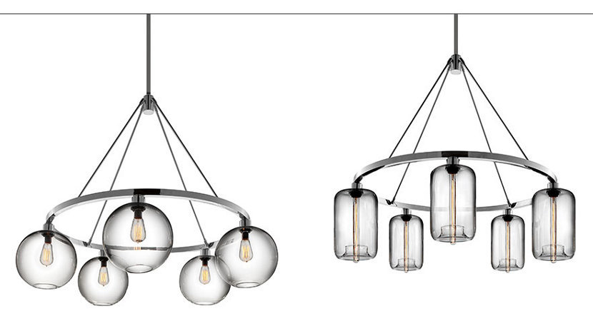 Customizable Modern Chandelier Collection