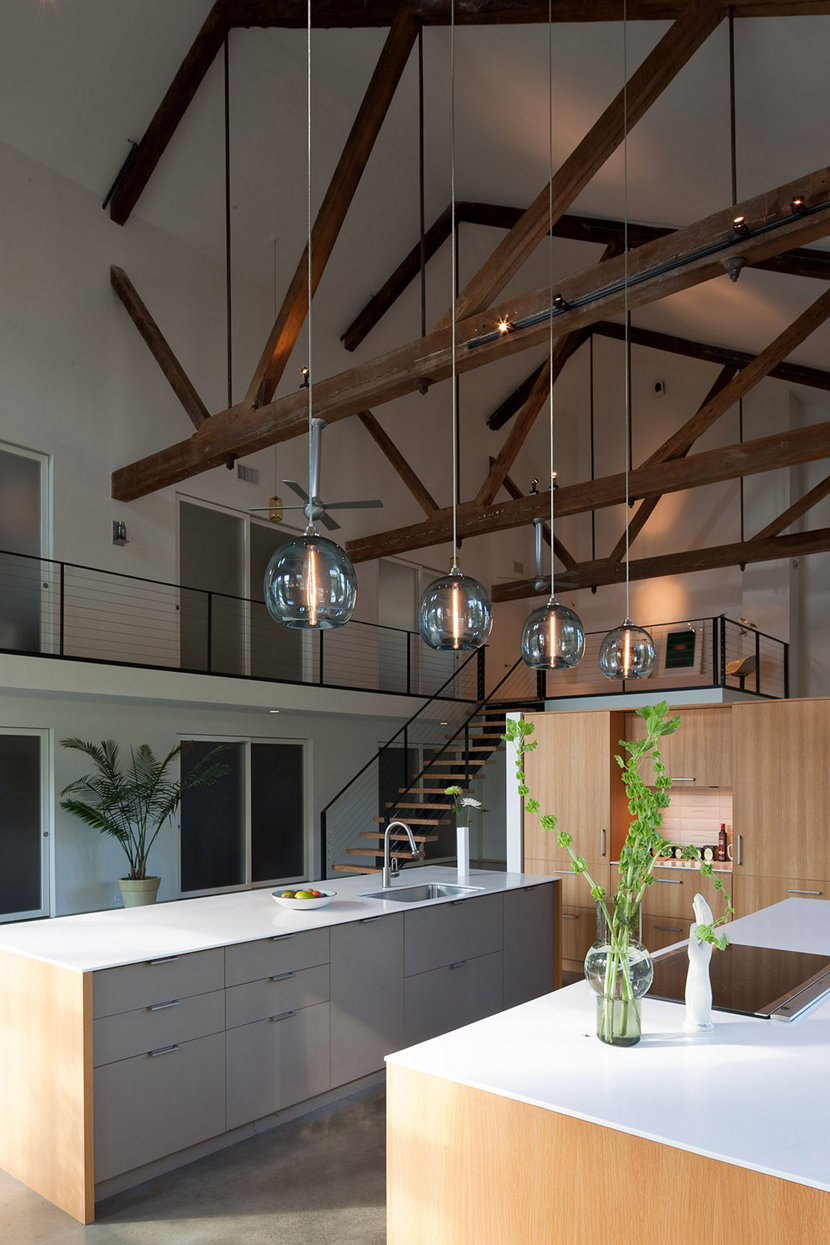 modern lighting for high ceilings