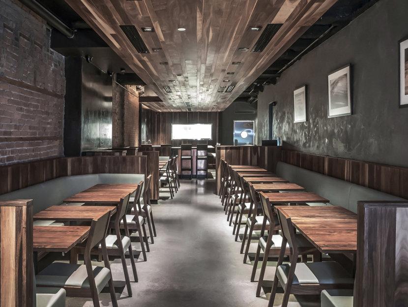 Restaurant Lighting - Sugarfish New York
