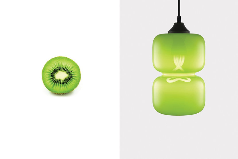 Summer Solstice - Kiwi Colored Glass