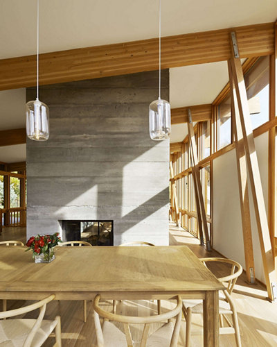 Kitchen Table Lighting: 3 Kitchen Table Pendant Lighting Installations Embrace Mid