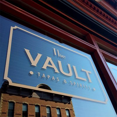 The Vault restaurant Beacon, New York