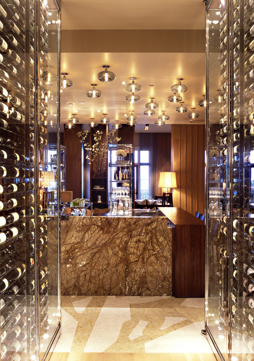 Stonehill Tavern bar pendant lighting