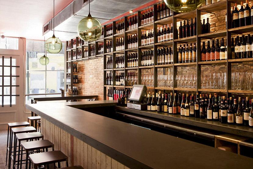 Terroir Wine Bar pendant lighting