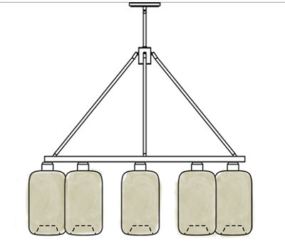 Glass Pendant Lighting Sale - Select Chandeliers