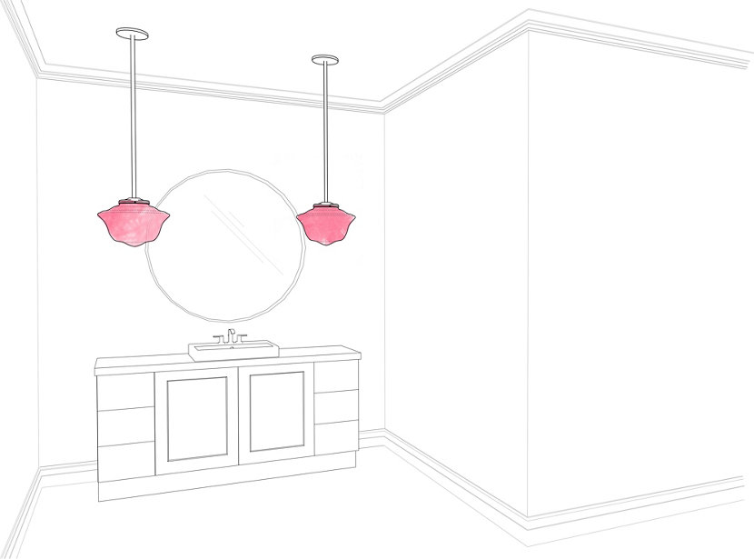 3 different types of modern lighting for your bathroom for Different types of bathroom designs