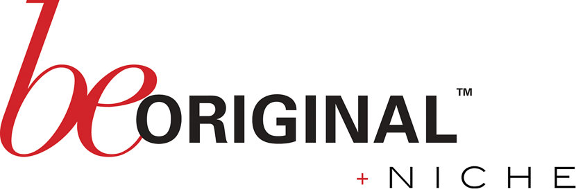 Be Original Americas logo plus Niche
