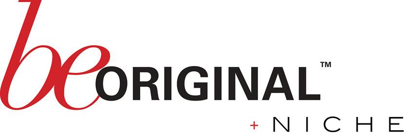 Be Original Americas logo plus Niche