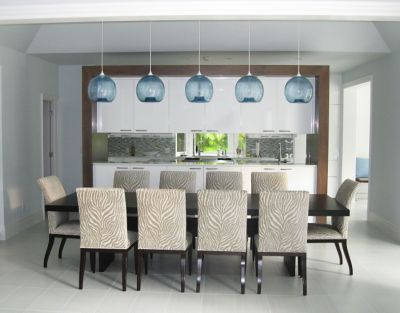Dining Room Pendant Lighting Hits the Beach