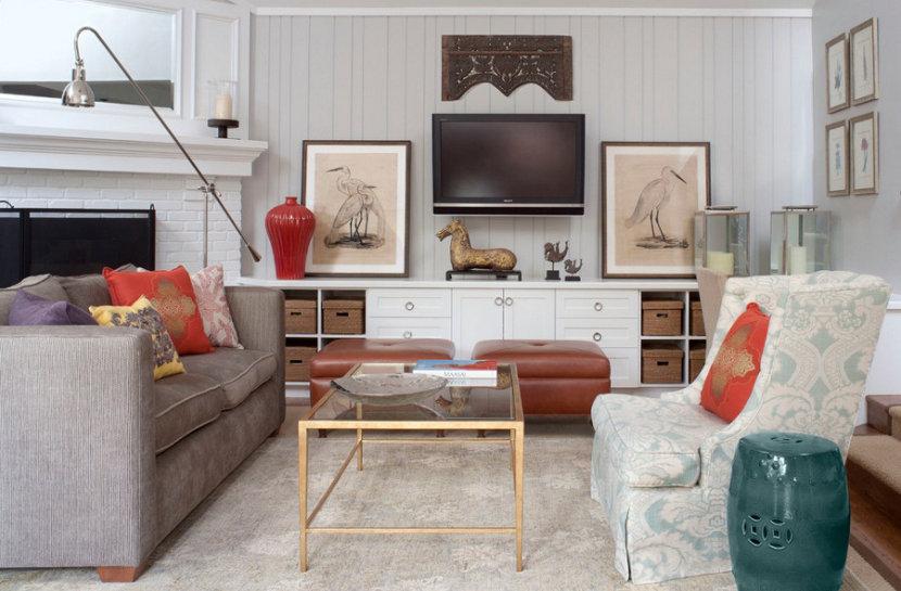 Adjoining Living Room in Colorado Country Club Neighborhood