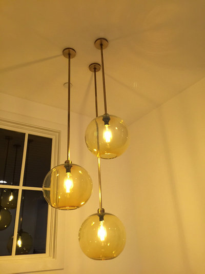 Custom Modern Lighting Installation