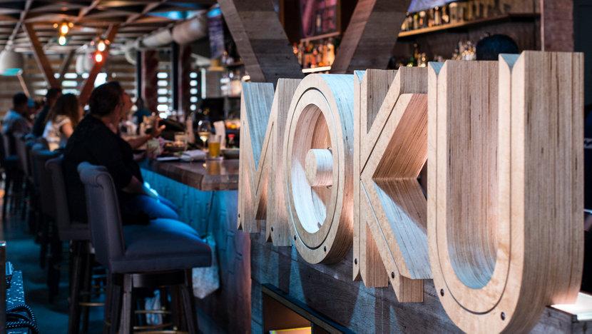Vibrant Pendant Lighting Featured in Moku Kitchen