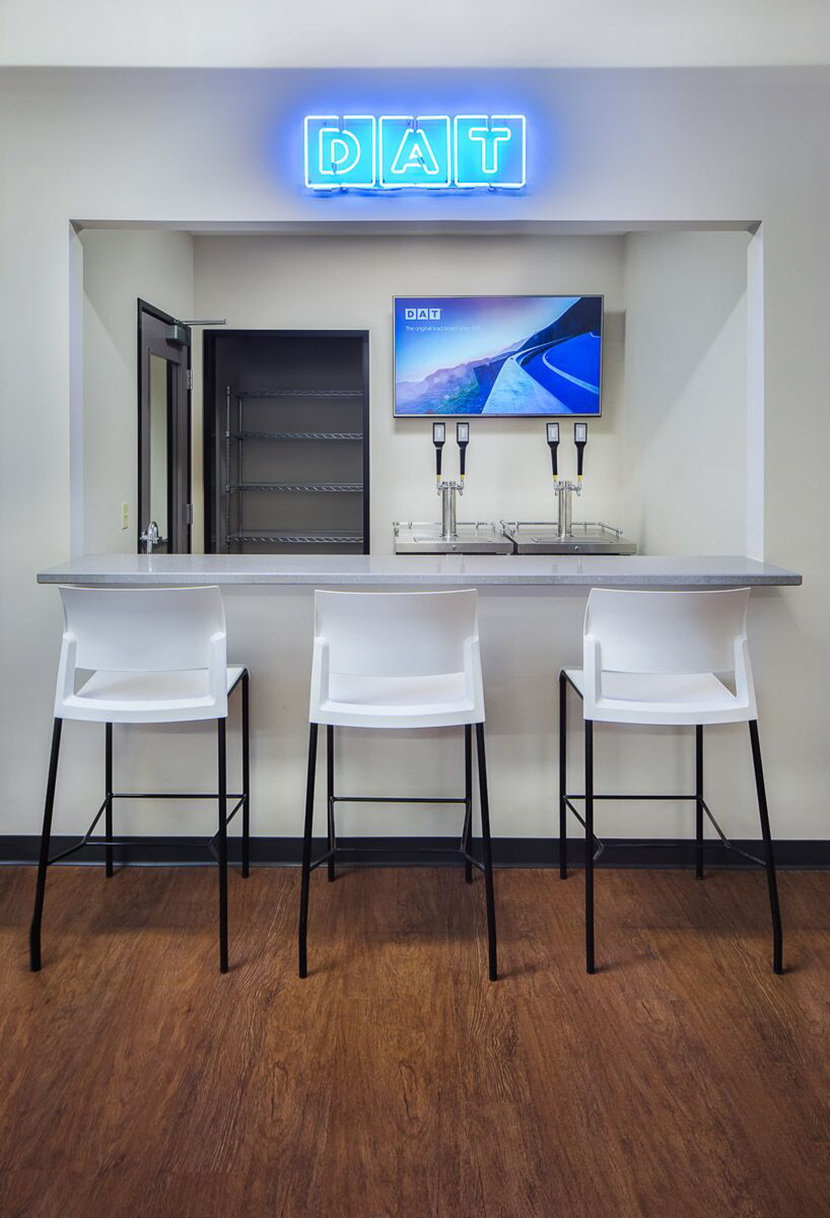 DAT Solutions Break Room Bar