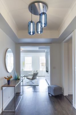 Entryway Pendant Lighting Paves The Way In This New York City Home