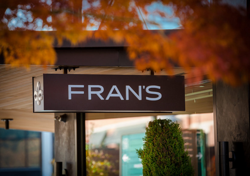 Fran's Chocolates Have Modern Retail Pendant Lights in University Village Location