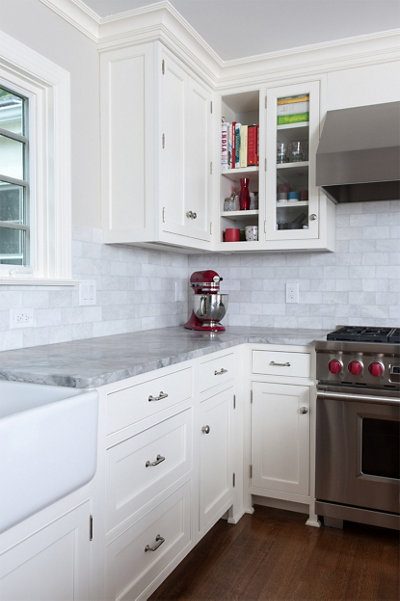 Kitchen Accents in Chappaqua Home