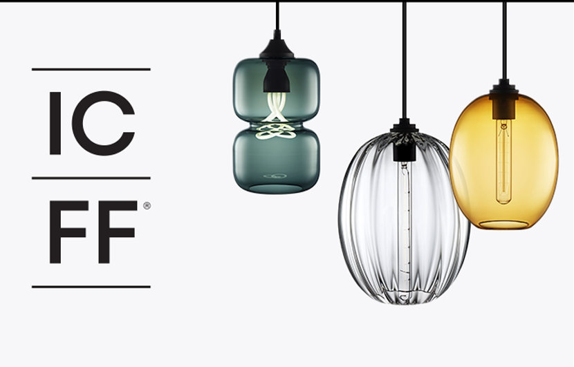 Last Day To See New Modern Pendant Lighting Collections At ICFF - Pendant light collections