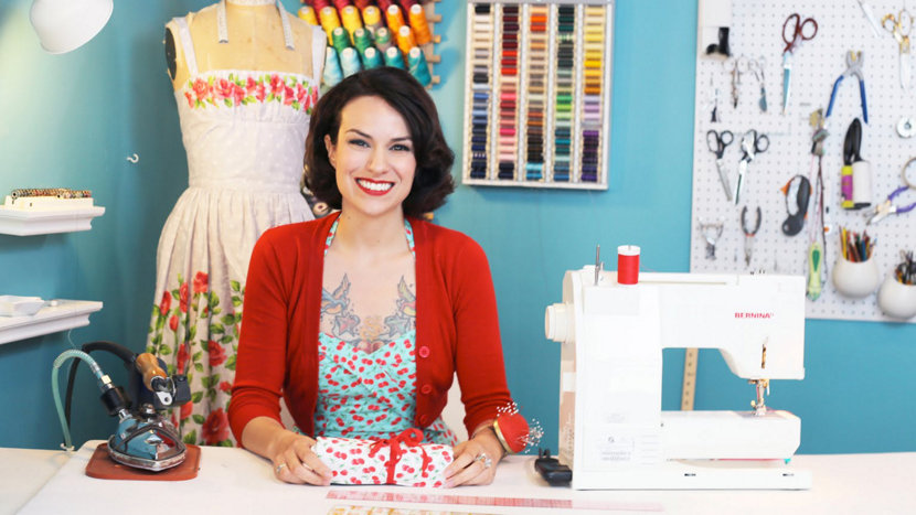 Gretchen Hirsch of Gertie's New Blog for Better Sewing