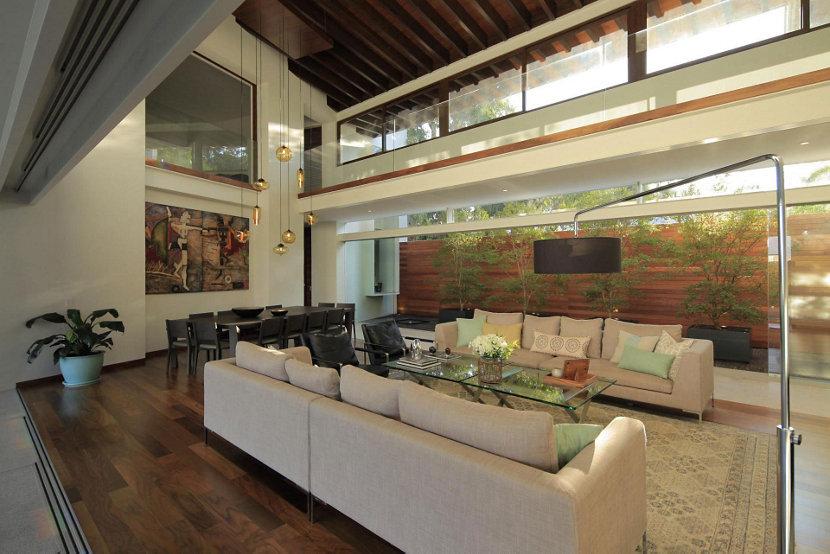 5 modern lighting installations for high ceilings modern lighting for high ceilings mozeypictures Gallery
