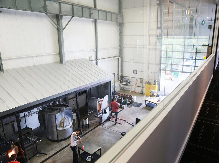 hot glass factory