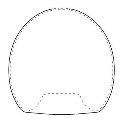 modern pendant light outline drawing