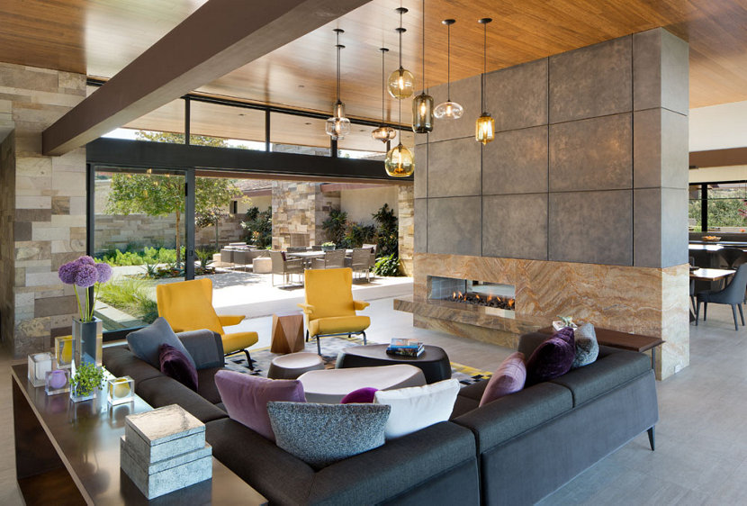 Architect Bruce Peeling And Dawson Design Group Joined Forces To Transform  This Santaluz Home Into One That Reimagined And Modernized A Mid Century ...
