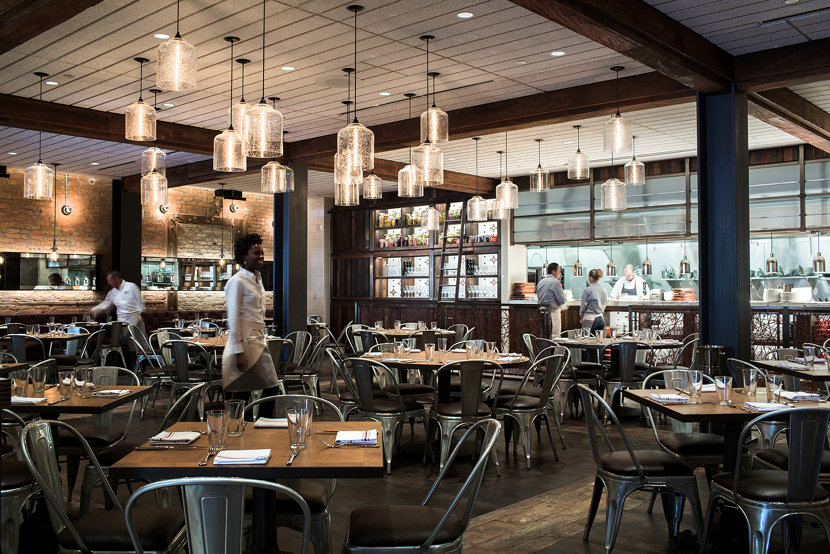 Modern Restaurant Lighting. Modern Pendant Lighting Clusters At CBD ...