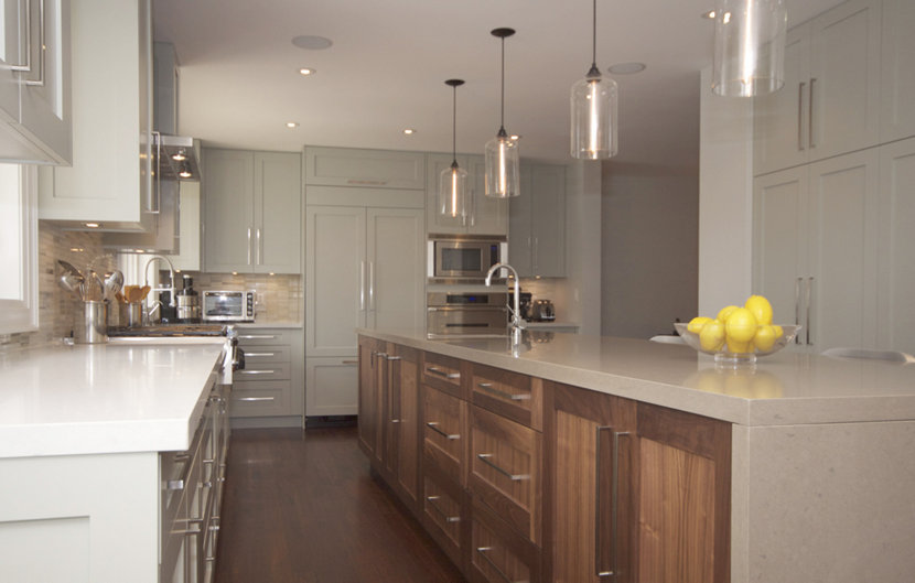 Kitchen Island Lighting Modern modern kitchen island lighting brings warmth to canadadian residence