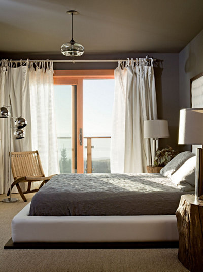 bedroom modern lighting