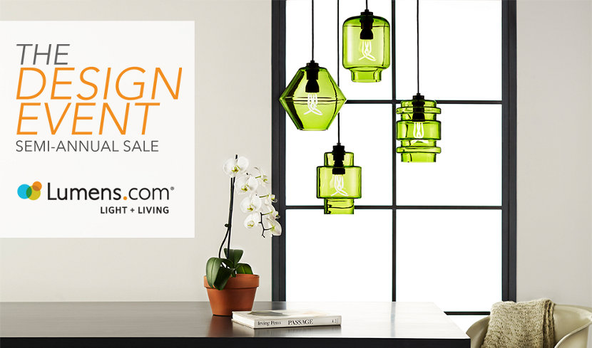 glass pendant lights on sale from Lumens.com