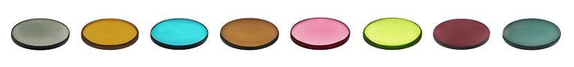 modern pendant light glass color samples