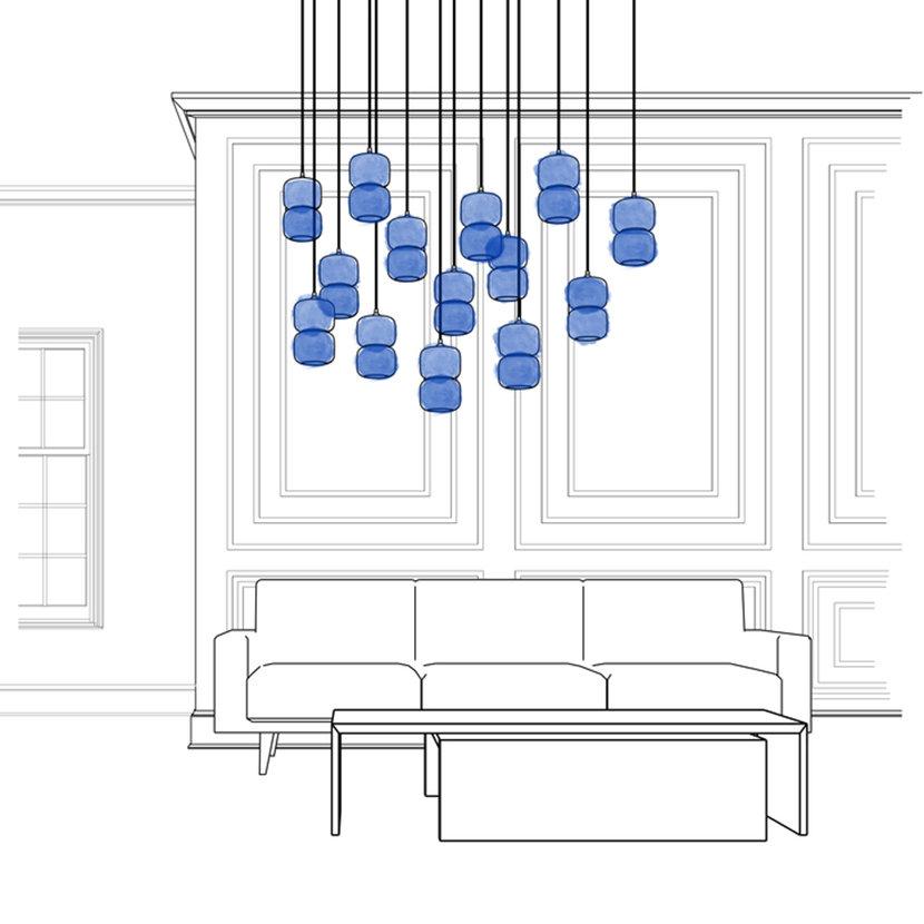 Living Room Modern Pendant Lighting