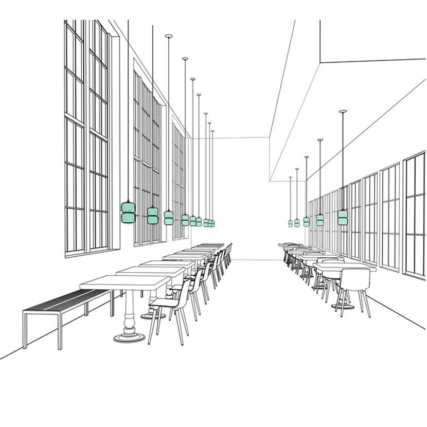 Restaurant Modern Pendant Lighting