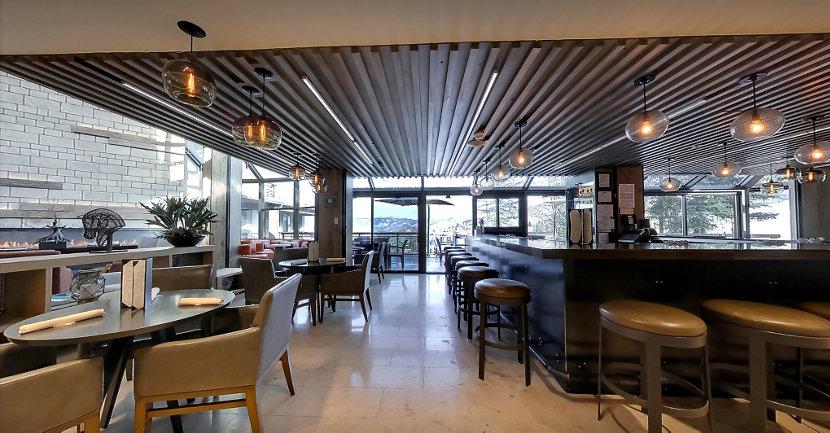 Resort Modern Lighting in Colorado Lounge