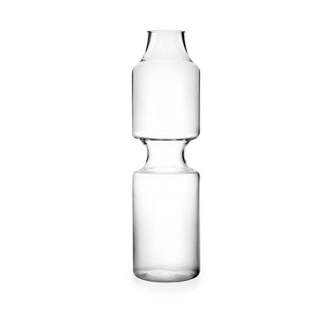 Indent Modern Glass Bottle