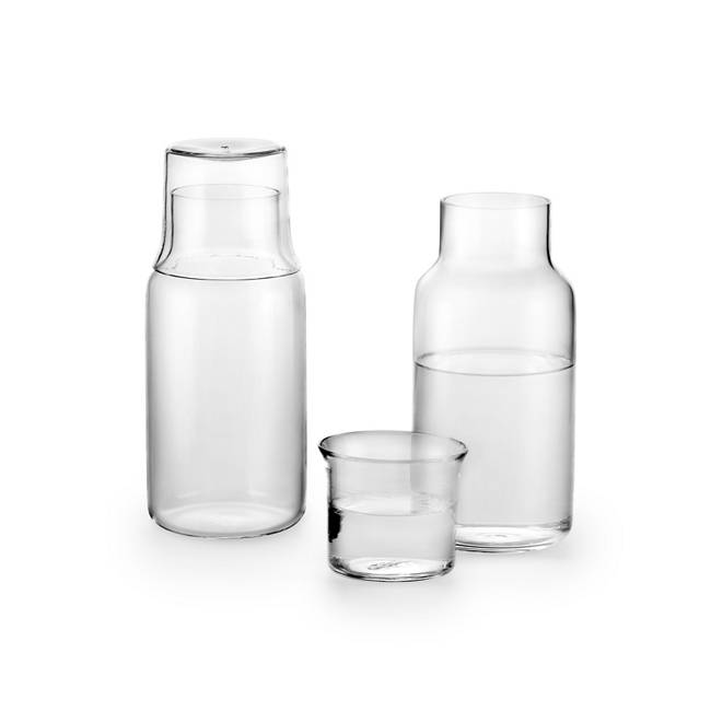 Luxe Modern Glass Carafe