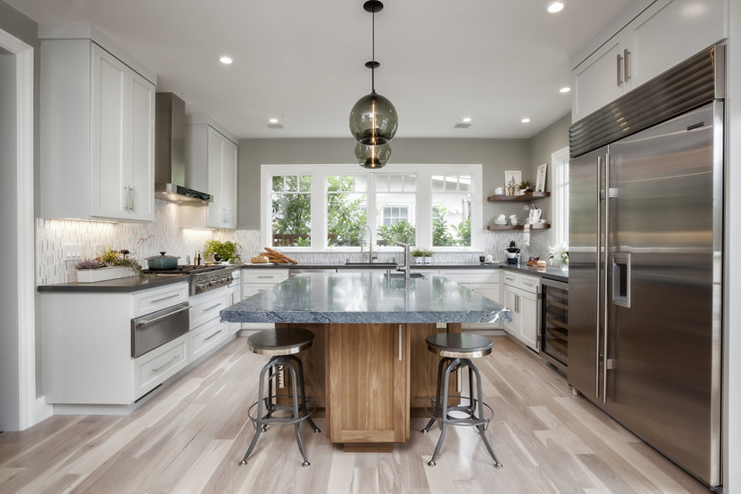contemporary pendant lights for kitchen island contemporary kitchen island pendants spotted in california 26545